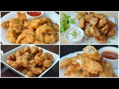 4 BONELESS FRIED CHICKEN RECIPES (RAMADAN SPECIAL) by YES I CAN COOK - YouTube Fried Chicken Boneless, Oven Chicken, Fried Chicken Recipes, Beef Recipes, Snack Recipes, Cooking Recipes, Snacks, Indian Food Recipes, Indian Foods