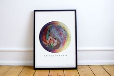 Equilibrium by ArtyPrintsBoutique on Etsy