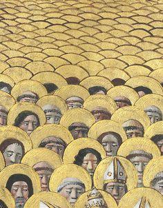 discarding images — all saints Hours of Louis de Laval, France ca....