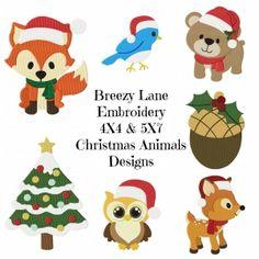 ChristmasAnimalsSet