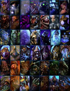 Starcraft 2, Character Portraits, Movie Posters, Painting, Art, Art Background, Film Poster, Painting Art, Kunst