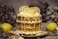 Lemon-Curt-Baiser-Cake – Naked Cakes – Pure Torten