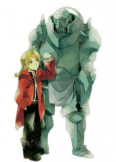 Foi definitivamente um dos meus animes favoritos do tempo ... (o original e Fraternidade também! ~ <3)