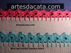 Bico Em Croche   Artes da Cata - Part 4