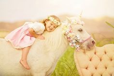 Children's Photography, Well Dressed Wolf, Unicorn Photo Session, Portraits of Grace Photography