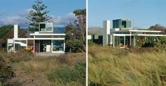 Manly Street Beach House in New Zealand by Parsonson Architects Photo