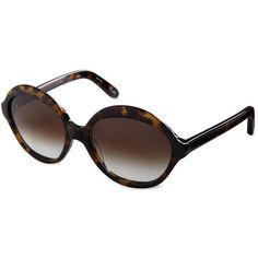 Elizabeth & James Rhoda Round Sunglasses ($185) ❤ liked on Polyvore