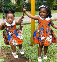 2019 Latest Ankara Styles for Kids - Naija's Daily Baby African Clothes, African Dresses For Kids, Girls Party Dress, Little Girl Dresses, African Babies, Girls Dresses, Ankara Styles For Kids, Ankara Dress Styles, Lace Dress Styles