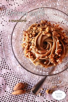Crema caffè e mandorle | crema pasticcera profumata