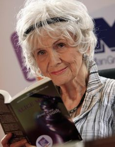 Alice Munro writer,81 years old.