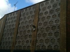 Fractal pattern on a building.