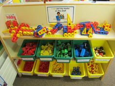 JPEG image - Small construction resources: Helps with imagination, hand and construction skills . Eyfs Classroom, Classroom Displays, Classroom Setting, Classroom Setup, Year 1 Classroom Layout, Early Years Classroom, Nursery Set Up, Nursery Layout, Construction Area Ideas