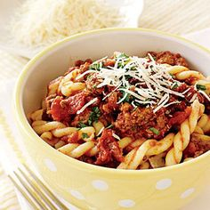 Slow-cooker Macaroni and Beef recipe# slow cooker healthy recipes