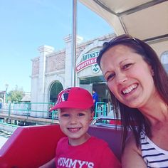 Mummy an md Albie have escaped to #ThomasLand for the day #schoolinseptember #preschooler #startingschool #summer #ukmumsquad