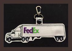 FedEx Semi Truck Key Fob