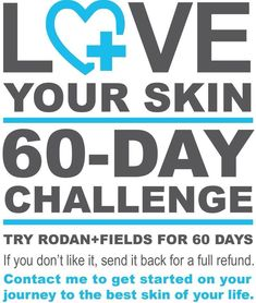 your skin! Accept the Rodan + Fields 60 day challenge!Love your skin! Accept the Rodan + Fields 60 day challenge! Rodan And Fields Canada, My Rodan And Fields, Rodan And Fields Business, Top Skin Care Products, Skin Care Regimen, Natural Products, Beauty Products, Love Your Skin, Good Skin