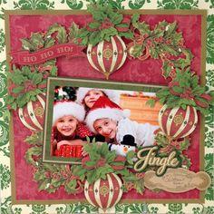 © Anna Griffin, Inc. Christmas Decoupage Die Cuts