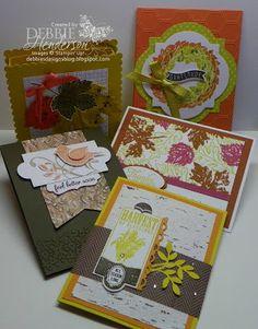 September Stamp Camp, Stampin' Up! products by Debbie Henderson, Debbie's Designs.