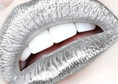 lipgloss - lip rock - metallic - metallic lips - fashion - make up - lips - awesome - trendy - trend - cosmetics - cosmetic - cool