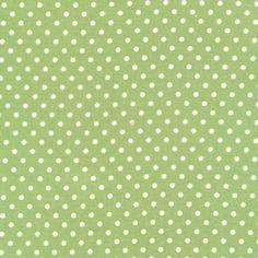 Tanya Whelan Delilah - Dots - Green Fabric