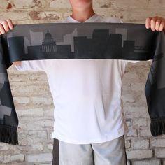0d2392abc1827b Scarf - Limited Edition - City Skyline Summer - Sacramento Republic FC Shop  Summer Scarves,