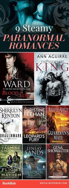 Check out these 9 steamy paranormal romance books.