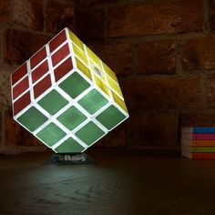#Rubik'scube desk #lamp that you can play with!!! <3