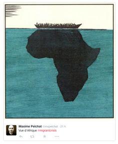Risque d'infiltration djihadiste parmi les Migrants. Satirical Illustrations, Illustrations And Posters, Social Art, Political Art, African Diaspora, Black Art, Black History, Collage Art, Socialism