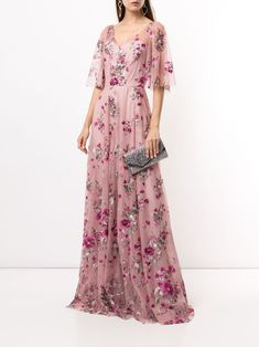 Gown Skirt, Tulle Gown, Marchesa Gowns, Day Dresses, Pink Dresses, Elegant Dresses, Summer Dresses, Jacket Dress, Just In Case