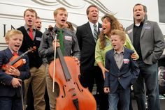 Josh Duggar and his family