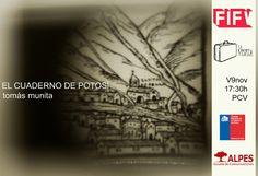 El cuaderno de Potosí: el nuevo libro de Tomás Munita   Fotografía