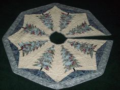 christmas tree skirts to quilt - Google Search