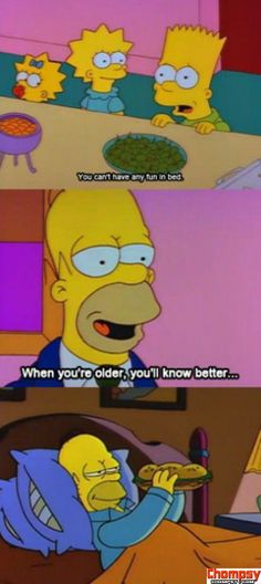 Funny Simpsons moment