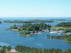 Raahe Marina. Northern Ostrobothnia, Finland. - Pohjois-Pohjanmaa