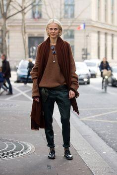 Aymeline Valade | Street style | Off-duty