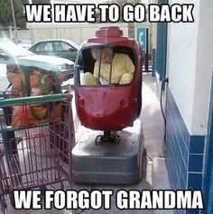 Wheeee!!! Made me laugh. What a cool grandma