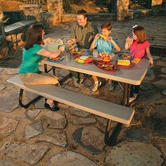 Costco Lifetime 6 Folding Picnic Table Moving To