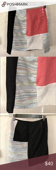 Akira Chicago Patchwork Skirt Edgy patchwork skirt in great condition! AKIRA Skirts