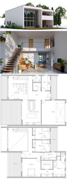 House Plans #modernhomedesignplans