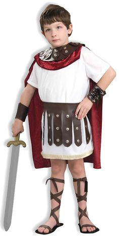 Gladiator Kids Costume | Totally Costumes