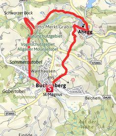 Karte / Herrenwieser Weiher