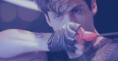 Alec Lightwood<< holding the bow wrong. You hold it with the fingers not for. It throws the arrow of course.