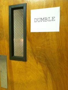 some seniors turned their school into hogwarts for their senior prank... brilliant!