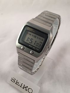 "Vintage Seiko Digital LCD 0674 5009 ""James Bond"" LC Watch 
