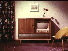 ...die ersten Fernseher in den 50 er Jahren