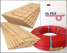 Do It Yourself Hydronic Radiant Floor Heating Systems. DIY Radiant Floor Heating Kits available in a variety of sqft configurations along with all the materials needed for DIY System installation. Hydronic Radiant Floor Heating, Hydronic Heating, Water Heating, Heating And Cooling, Tyni House, Deck Flooring, Do It Yourself Kit, Radiant Heat, New Home Designs