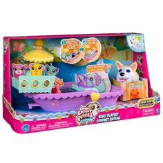 Chubby Puppies - Boat Playset with Flip Open Deck and Chubby Puppy Girl Toys Age 5, Baby Girl Toys, Toys For Girls, Kids Toys, Chubby Puppies, Toy Puppies, Puppies For Sale, Little Live Pets, Little Girls