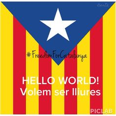 INDEPENDENCIA CATALUNYA #freedom #europe