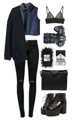 """black"" by storan ❤ liked on Polyvore"