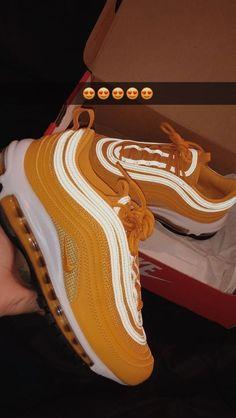 Air Max 97 – - Women's Sneakers Moda Sneakers, Cute Sneakers, Sneakers Nike, Sneakers Workout, Black Sneakers, Air Max Sneakers, Souliers Nike, Aesthetic Shoes, Hype Shoes